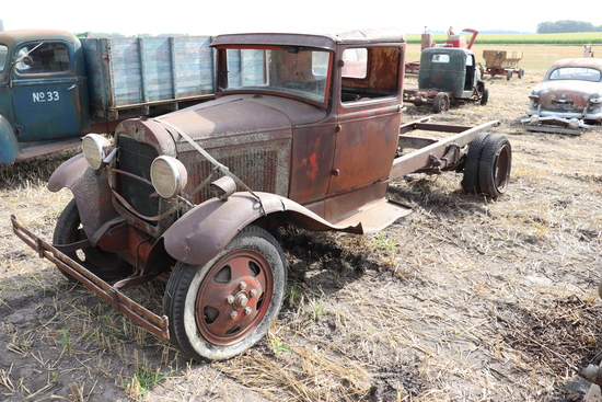 FORD AA SINGLE AXLE TRUCK, NOT RUNNING, PARTS