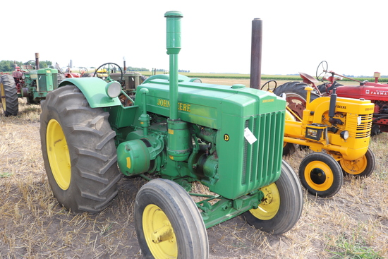 1948 JOHN DEERE D, OLDER RESTORATION,