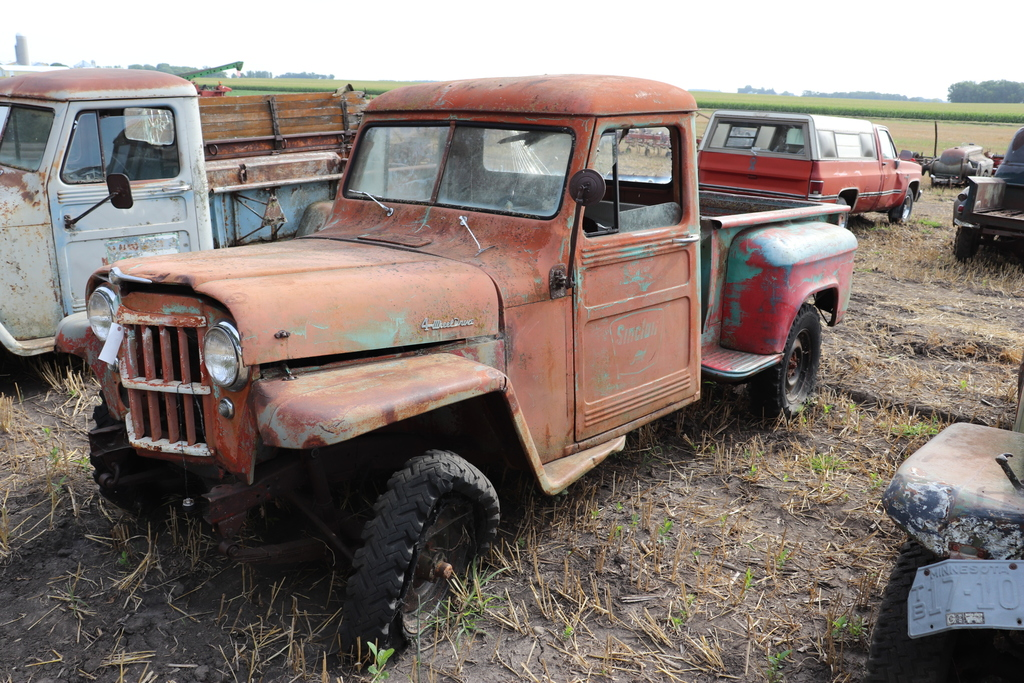 *** 1958 JEEP PICKUP, 4X4, 6 CYLINDER,