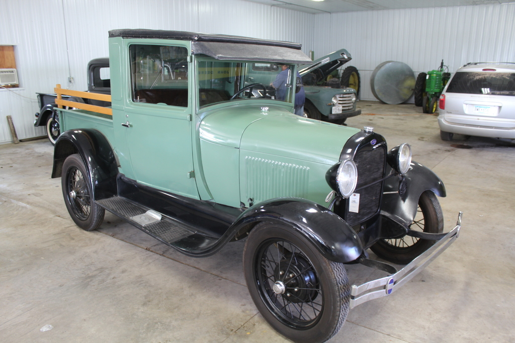 *** 1929 FORD MODEL A PICKUP, RESTORED, WIRE