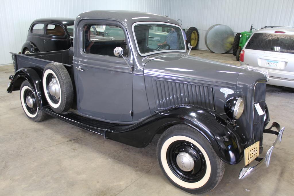 *** 1936 FORD PICKUP, RESTORED, FLATHEAD V-8,