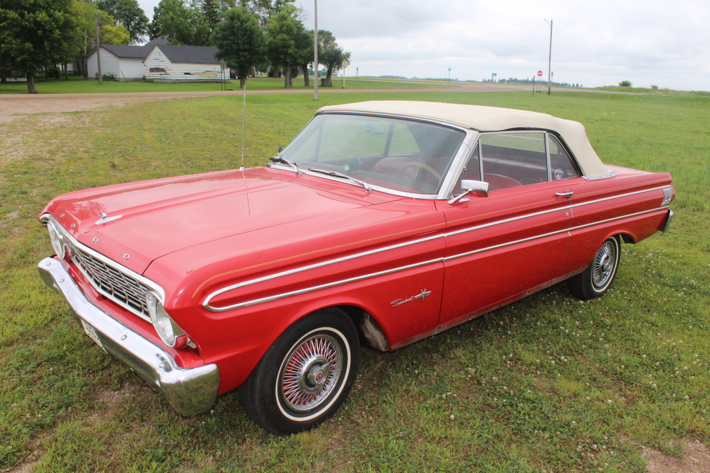 *** 1964 FORD FALCON SPRINT CONVERTIBLE, AUTO,