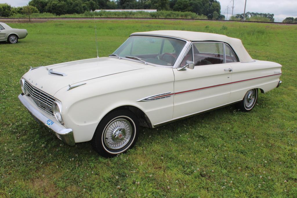 **1963 FORD FALCON CONVERTIBLE, AUTO, 17,775 MILES
