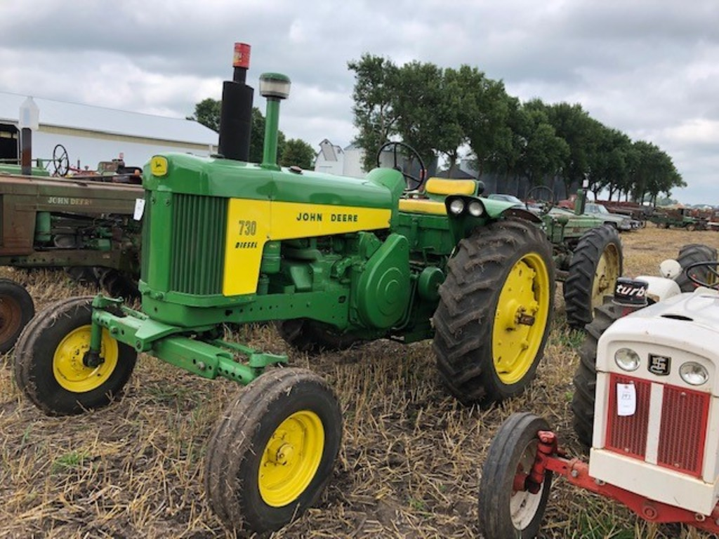 1958 JOHN DEERE 730, RESTORED, ELECTRIC START,