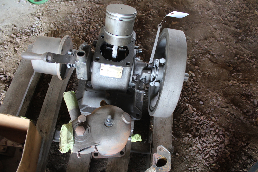 Lot: CUSHMAN MODEL C7, 4 HP HIT & MISS ENGINE, SN