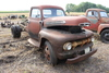 FORD F5 SINGLE AXLE TRUCK, V-8, 4 SPEED,