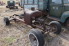 FORD MODEL T TRUCK CHASSIS AND ENGINE,
