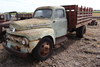 *** 1952 FORD F6 SINGLE AXLE TRUCK, 35,910 MILES SHOWING,