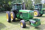1990 JOHN DEERE 4555 2WD TRACTOR, 15 SPEED
