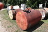 500 GALLON DIESEL BARREL, GASBOY 110 VOLT PUMP,