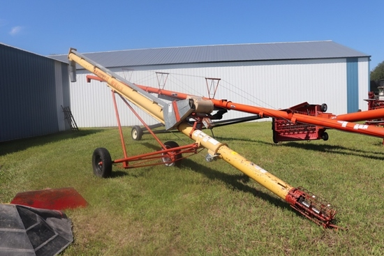 "WESTFIELD 8"" X 31' AUGER, 5 HP. ELECTRIC MOTOR"