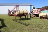BLUMHART/WIL-RICH 500 GALLON, 3 PT SPRAYER, 60' BOOM, RINSE TANK, HYD PUMP