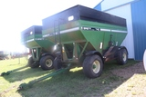 BRENT 740 GRAVITY BOX, LIGHTS, BRAKES, 445/65R22.5 SUPER SINGLES, FENDERS