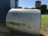 1000 GALLON FUEL BARREL, 110 VOLT GAS BOY PUMP