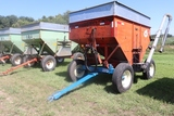 KORY 300 BUSHEL GRAVITY BOX, KILL BROS MODEL 1280 GEAR, 10.00-20 TRUCK TIRES,
