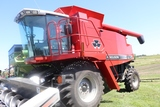 2002 MASSEY FERGUSON 8780 XP COMBINE, HYDRO, INSTRUCTIONAL SEAT, HOPPER EXTENSION,