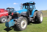 1994 FORD 8770 MFWD, SUPER STEER, 16 SPEED, 4 HYD, 3PT, SMALL 1000 PTO, ROCK BOX,