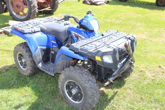 2008 POLARIS SPORTSMAN 500 HO, ATV, 4X4,
