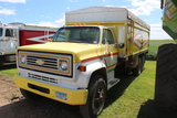 *** 1974 CHEVY C-65 TANDEM TRUCK, TAG AXLE,