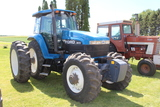 1994 FORD 8670 MFWD TRACTOR, POWERSHIFT, SUPERSTEER,