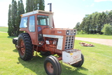 IH 1066 TRACTOR, CAB, 18.4-38 REARS, 10.00-16
