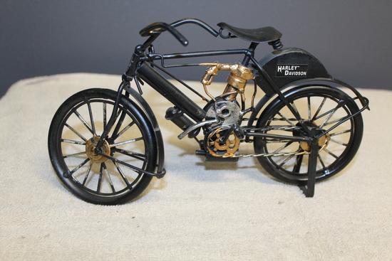 1/16 HARLEY DAVIDSON BICYCLE, NO BOX
