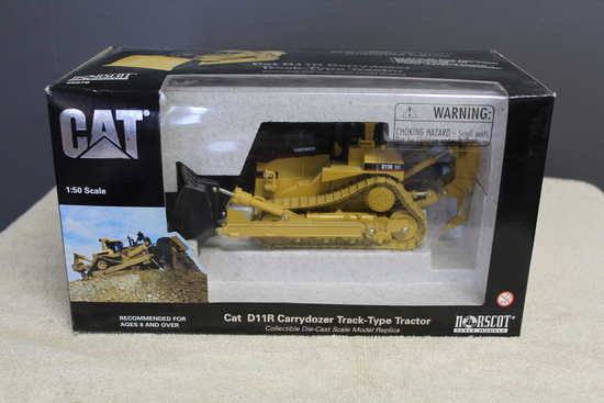 1/50 CAT D11R CARRY DOZER WITH RIPPER,