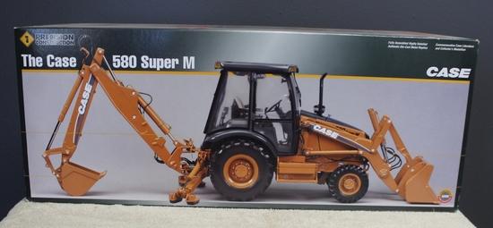 1/16 CASE 580 SUPER M BACKHOE, PRECISION # 1,