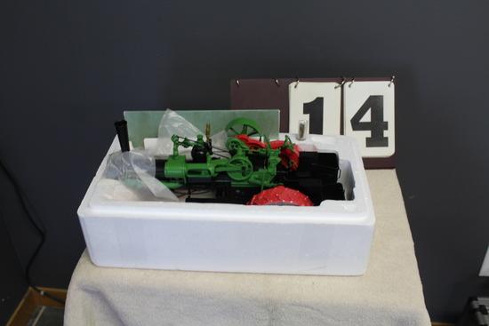 CASE STEAM TRACTION ENGINE, MILLENNIUM FARM