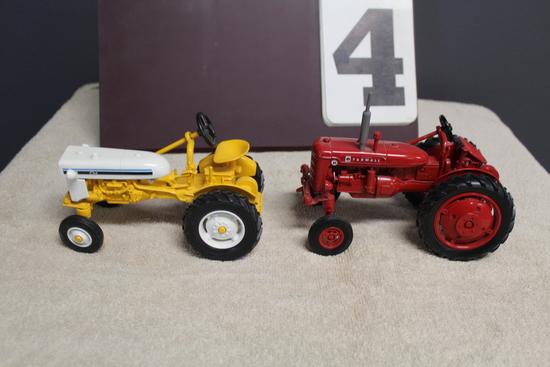 1/16 FARMALL CUB, YELLOW, 1/16 FARMALL SUPER AV,