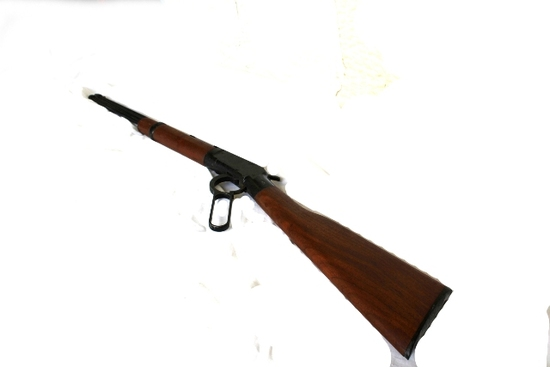 ITHACA MODEL M-49 22 CAL, LEVER ACTION,