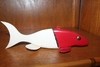 HOME MADE BY SELLER WOOD FISHING SPEAR LURE,