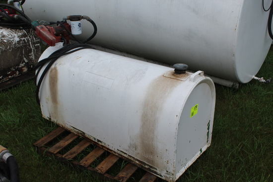 PICKUP FUEL TANK WITH 12V PUMP, 15 GPM, AUTO