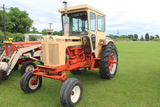 1966 CASE 930 TRACTOR, CAB, WIDE FRONT, 15.5-38