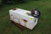 APPROX 150 GAL PICKUP FUEL TANK W/ 12V PUMP, 20