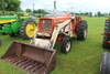 ALLIS CHALMERS 180 GAS TRACTOR, WF, WITH HYD