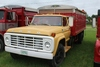 **1974 FORD F700 TRUCK, SINGLE AXLE W/ 15' STEEL