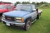 **1992 GMCK2500 REG CAB 4X4 PICKUP, AUTO, FLATBED,