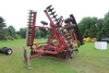 CASE IH 496 DISK, 31.5' FIXED SCRAPERS, CUSHION