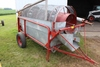 SIOUX GRAIN SCREENER ON TRANSPORT WITH FILL AUGER