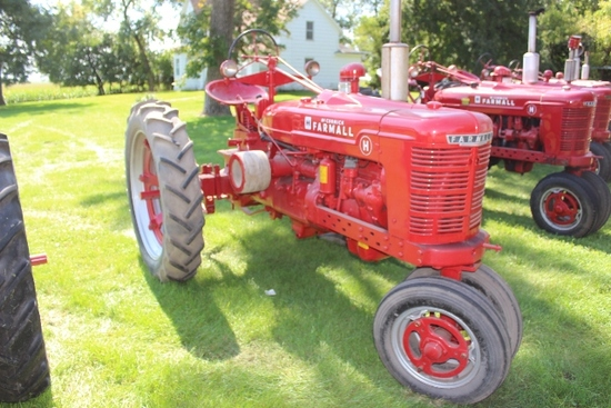 FARMALL H, NF, PTO, PULLEY, 11.2-38'S, RESTORED,