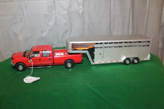FORD F250 XLT SUPER DUTY WITH STOCK TRAILER