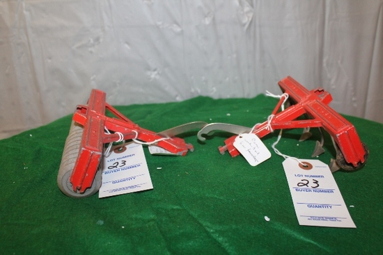 HUBLEY PULL TYPE CULTIVATOR AND COIL PACKER