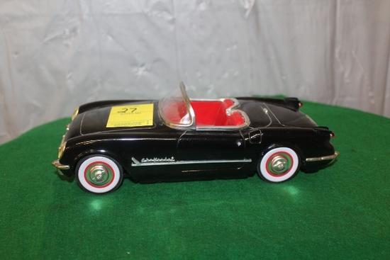 1950'S JAPANESE CONVERTIBLE TIN CAR, NO BOX