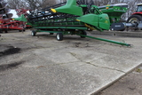 UNVERFERTH 4 WHEEL HEAD TRAILER, SMALL WHEELS, '