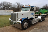 *** 1990 PETERBUILT 379 DAY CAB SEMI TRACTOR,