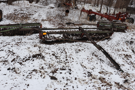 20' BRILLION CAST IRON PACKER, 3 SECTIONS