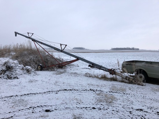 """8"""" X APPROX 50' NECO AUGER, PTO"""