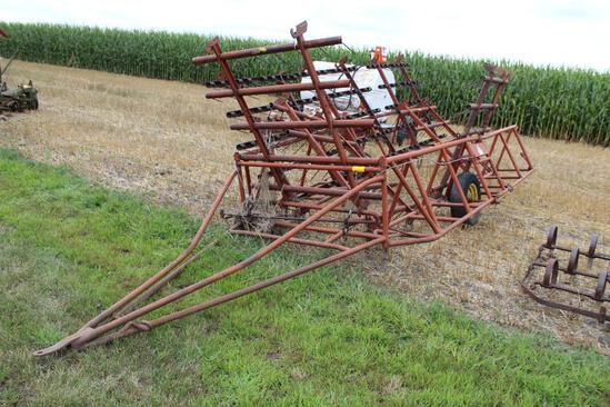 Melroe 6 Section Drag on 7 Section Cart