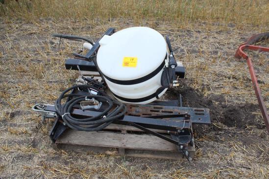 Solar 30 Gallon Poly Tank, 12V Pump, Mounting Brackets